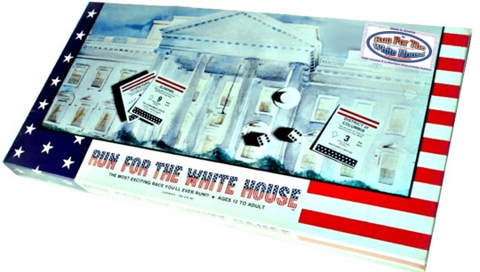 Front of Run For The White House Box
